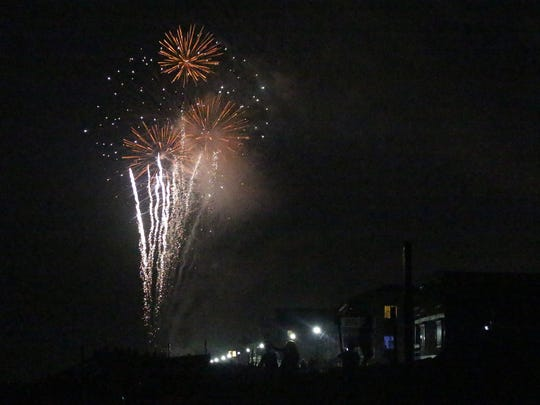 Bethany Beach provided the area with a beautiful display of fireworks for the 4th of July celebration on Tuesday, July 4, 2017.