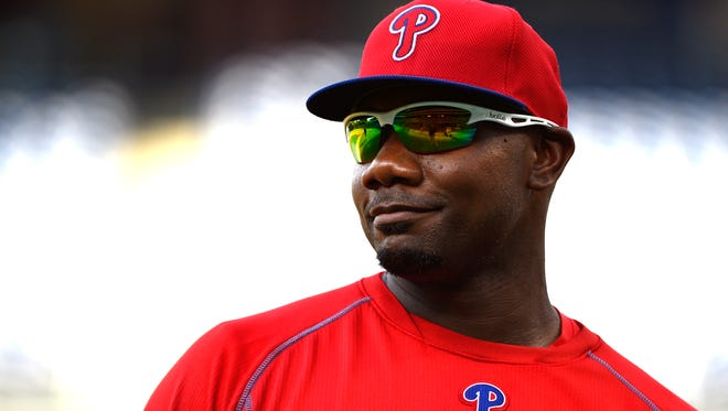 Ryan Howard played 13 seasons with the Phillies.