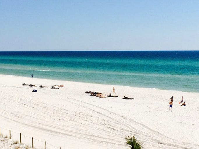 We asked readers to send us their favorite beach photos, and these are some of our editors' favorites (new images added 3/13/14). Submit your own to usatoday.com/YourTake. <br /> Pictured: Great weekend at Panama City Beach.