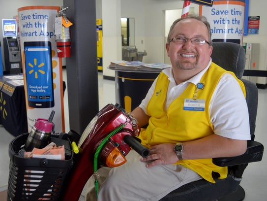Roger Kelly has worked at Walmart in Tulare for 18