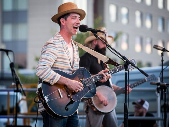 File photo from 2017's Muncie Three Trails Music Series with Pokey LaFarge.
