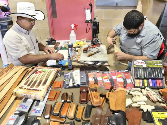 The Saxet Gun Show will be from 9 a.m. to 5 p.m. Saturday,