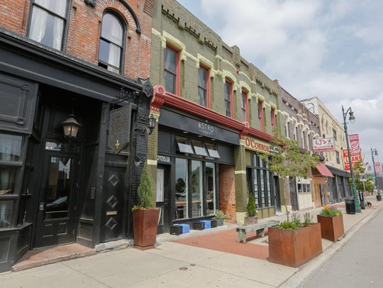 Detroit's Corktown neighborhood on Tuesday, June 12,