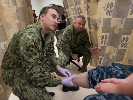 Corpsman at NATTC