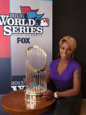 Mary J. Blige will sing the national anthem for Game One of the World Series.