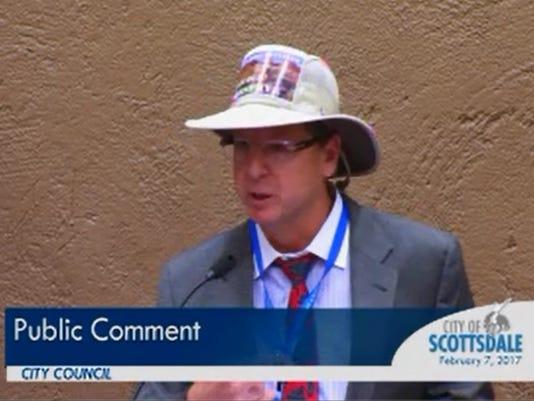 Scottsdale activist Mark Stuart
