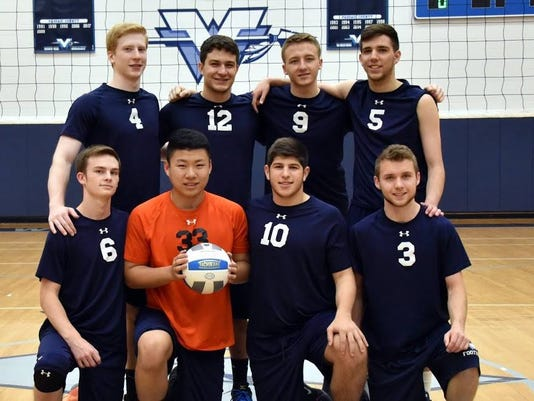 Wayne Valley boys volleyball