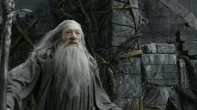 Ian McKellen in a scene from 'The Hobbit: The Desolation of Smaug,' in theaters Dec. 13.