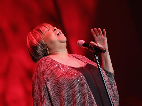 Gospel/soul legend Mavis Staples wowed the crowd at