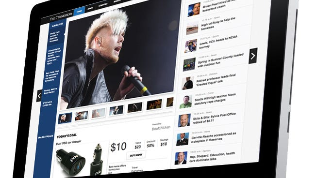 The new Tennessean.com
