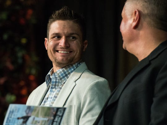 Buck Britton at the 17th Annual Hot Stove Banquet on
