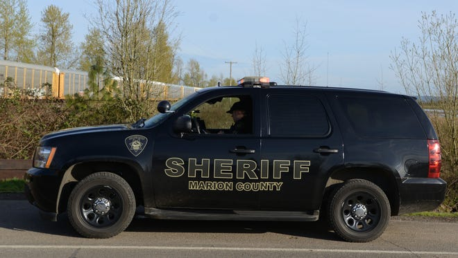 Marion County Sheriff's Office patrol car.
