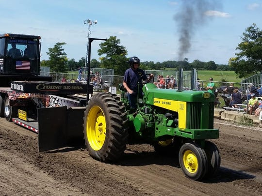 There are many tractors which compete or are displayed at the annual fair. The Hunterdon County 4-H and Agricultural Fair runs Wednesday-Sunday, Aug. 23 to 27 at the Roger K. Everitt Fairgrounds at South County Park in Ringoes.