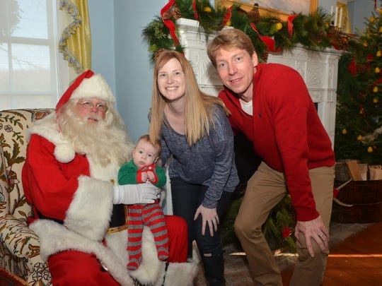 Children of all ages enjoy Santa visits Sundays from 1 to 3 p.m.