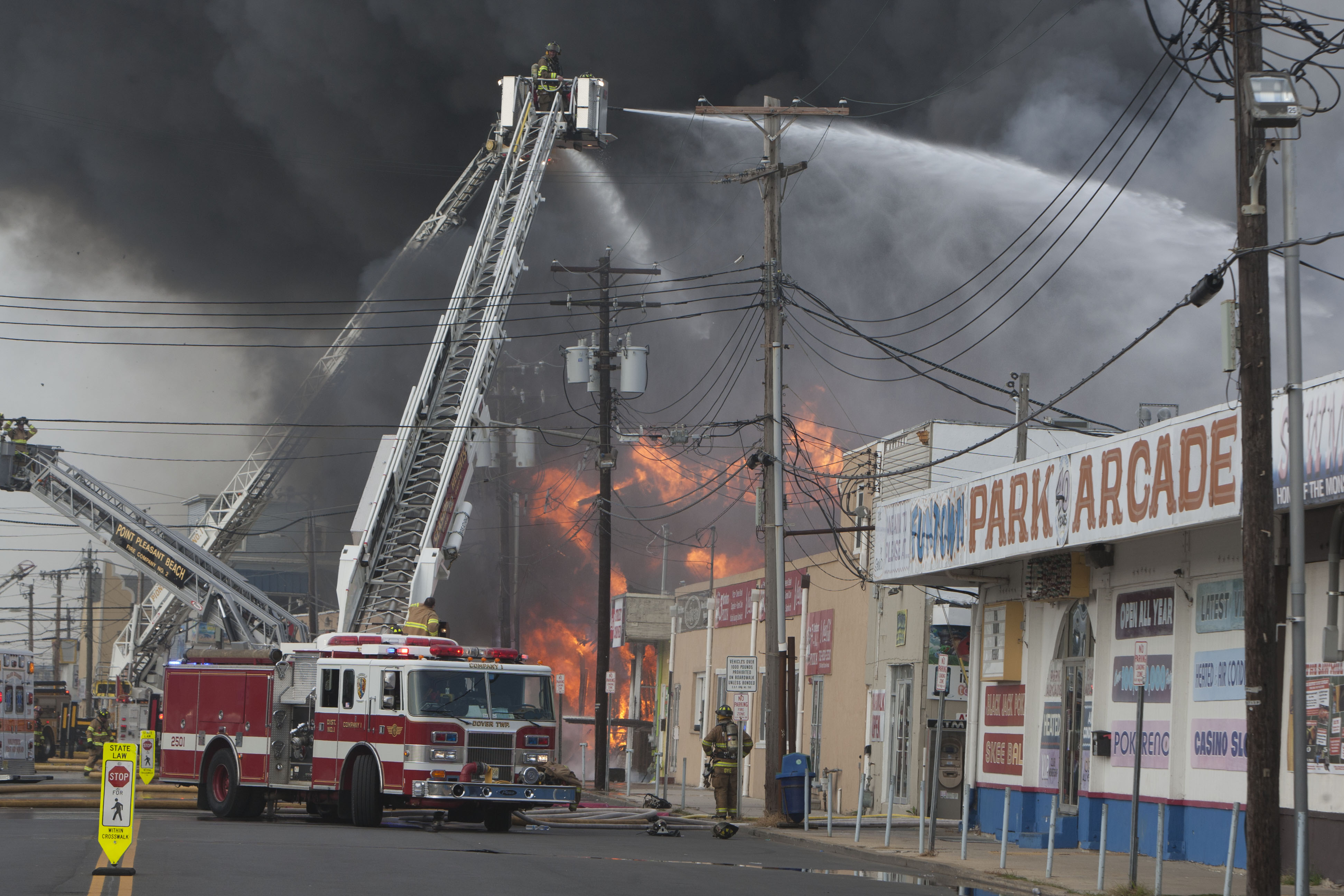 No Cause Known for Fire That Devastated Boardwalk in Sandy-Ravaged ...