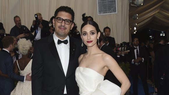 Emmy Rossum and Sam Esmail are married.
