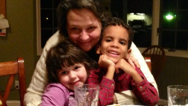 Susan Terrillion is shown with her children. The state dropped two charges of child endangerment against Terrillion about a month after she was arrested and charged for leaving her children alone while she went to pick up dinner in Rehoboth Beach.