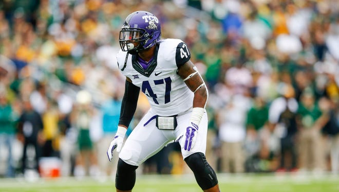 The Bengals picked TCU  linebacker Paul Dawson at No. 99 overall in the third round.