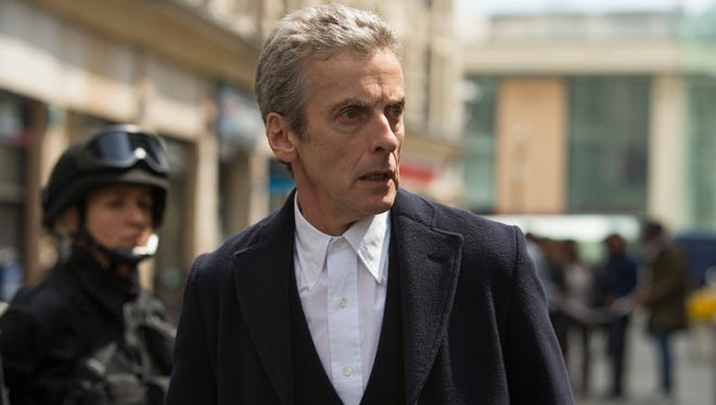 Peter Capaldi plays The Doctor on BBC America's 'Doctor Who.'