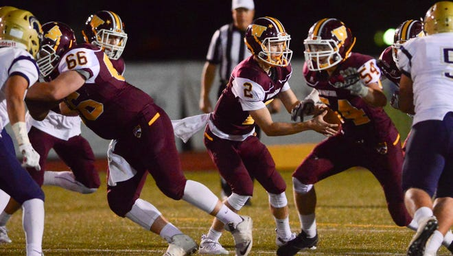 Windsor quarterback Brad Peeples is the Wizards leading rusher entering Friday's first round playoff game against Pueblo West.