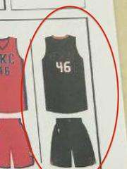 Suns alternate uniform.