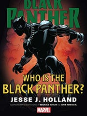 """Cover of """"Who is the Black Panther?"""" by Mississippi native Jesse Holland."""