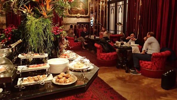 At the Pera Palace Hotel Jumeirah in Istanbul, English