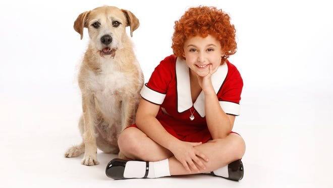 "Heidi Gray stars in the title role of the new national tour of ""Annie."""