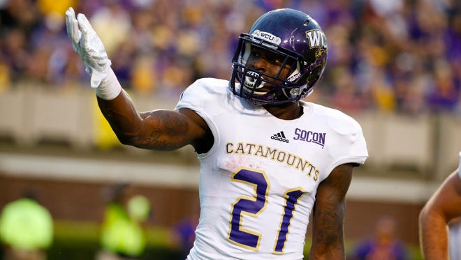 An All-American in 2016, Dontrez Newsome leads the WCU football team into its 2017 season.
