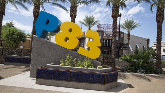 P83, Peoria's entertainment district, is southeast of Bell Road and Loop 101.