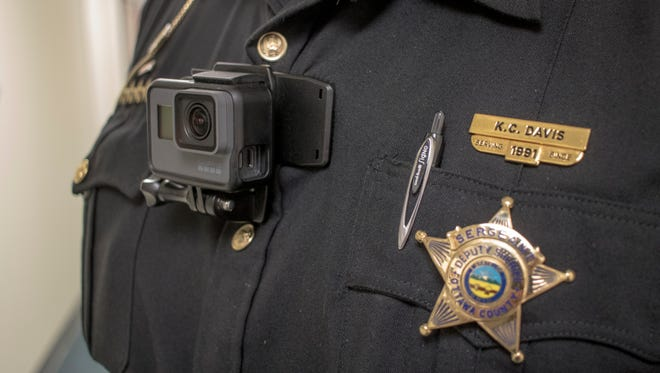 The Sandusky County Sheriff is looking into purchasing body cams similar to ones used at Ottawa County Sheriff's Office. The cameras would upload recordings to a cloud-based storage server.