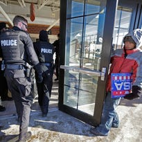 Police want presidential candidates to pay bills