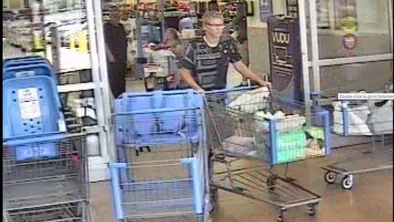 Simpsonville police are trying to identify this man who they say was involved in a hit and run Tuesday, Anyone with information is asked to call (864)967-9536.