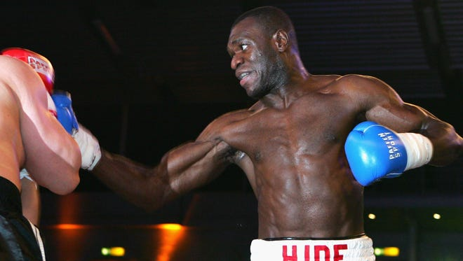 Former world champion boxer Herbie Hide, shown in 2007,  has been jailed for 22 months after admitting selling cocaine.