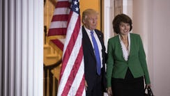 President-elect Donald Trump and Rep. Cathy McMorris