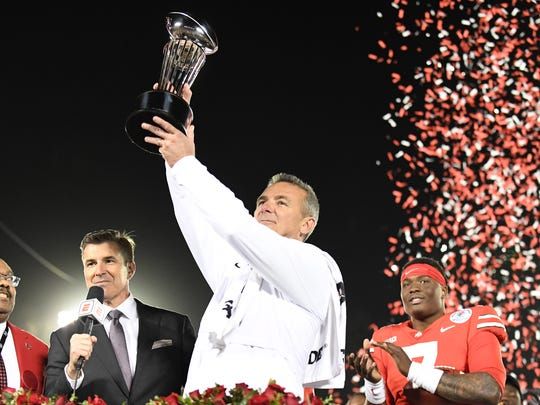NCAA Football: Rose Bowl Game-Ohio State vs Washington