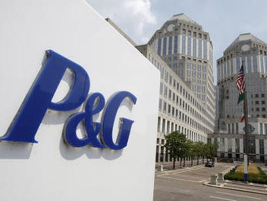 P&G towers worms eye from 2010