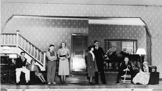 "Shown in 1936 are the cast members of the Bremerton High School senior play ""Your Uncle Dudley."" The play, a comedy, was previously produced as a Hollywood film in 1935 with Edward Everett Horton in the role of Dudley Dixon. If anyone knows the names of any of the actors shown here, please contact the museum. To see more photos from the Kitsap County Historical Society Museum archives, visit facebook.com/kitsaphistory, kitsapmuseum.org, or stop by the museum at 280 Fourth Street in Bremerton. Call 360-479-6226 for information."