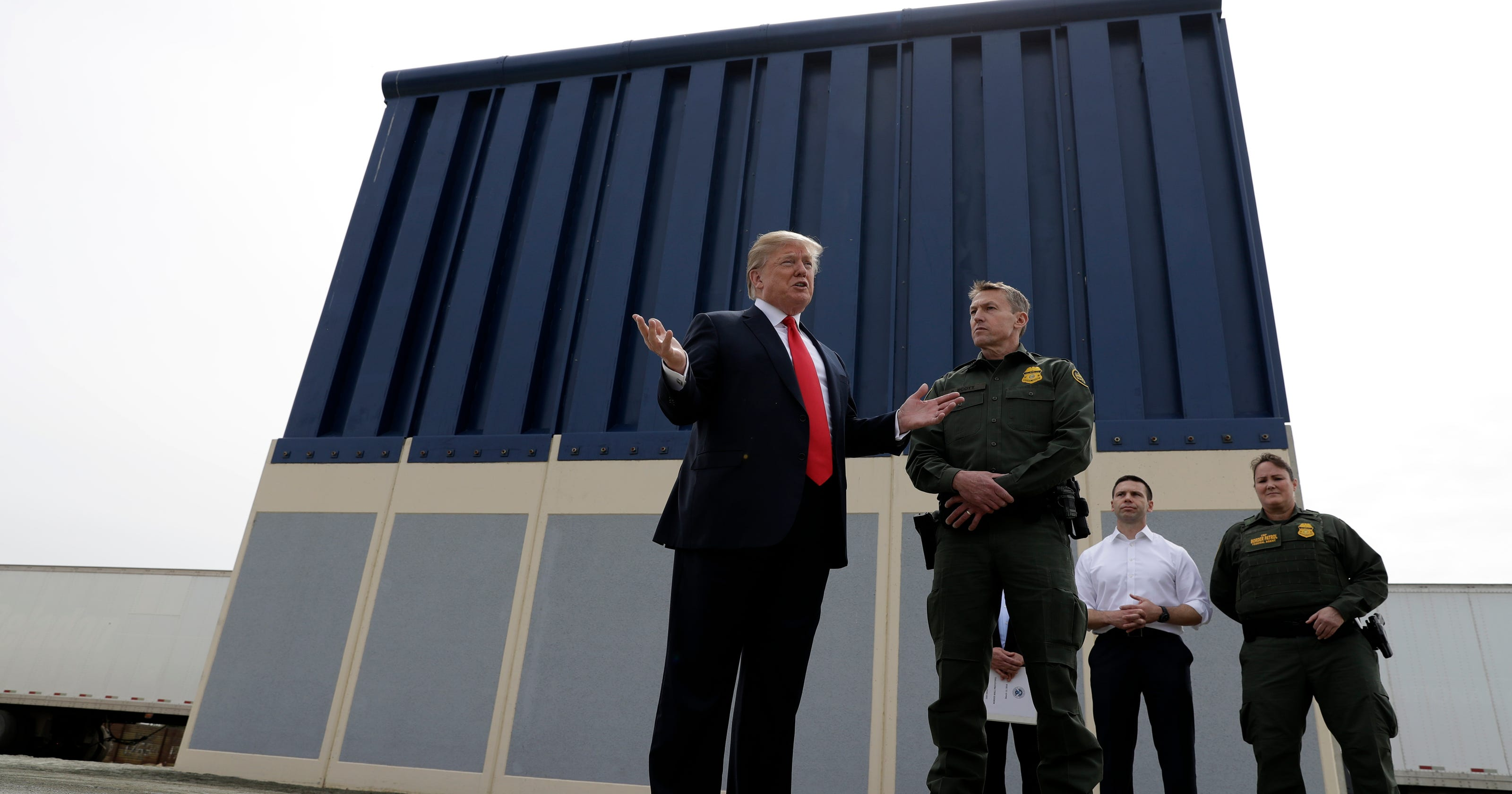 Image result for Is Trump's border wall being built? Here are the facts