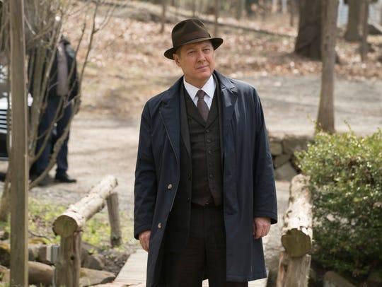 James Spader as Raymond in NBC's 'The Blacklist.'