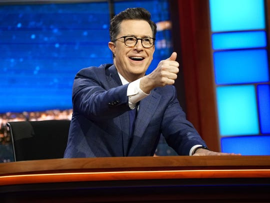 Stephen Colbert's 'Late Show' stole the ratings crown