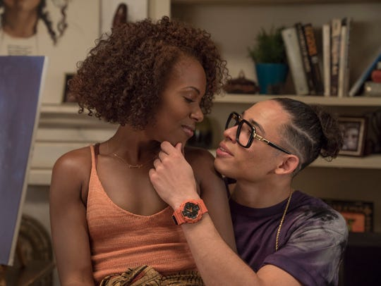 DeWanda Wise as Nola and Anthony Ramos as Mars on 'She's