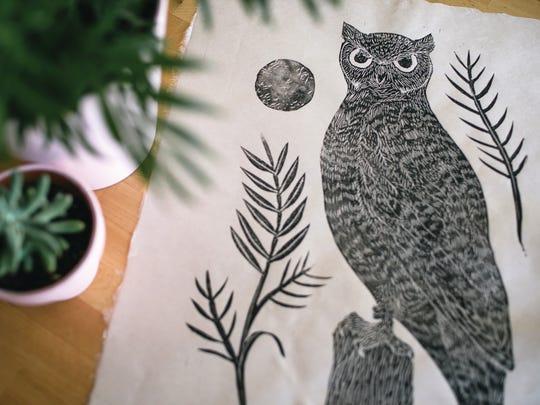 """The Elusive Night Owl"" by Jenn Tanay."