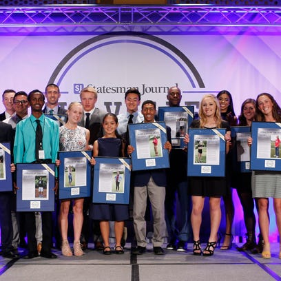 Winner photos from Mid-Valley Sports Awards