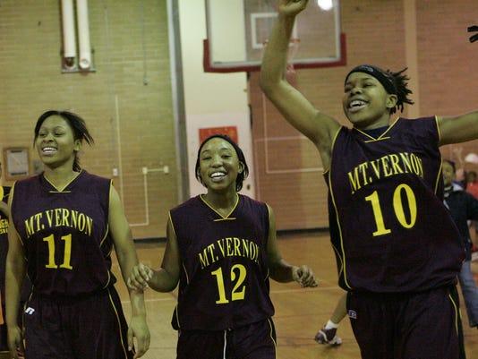 Mount Vernon girls basketball