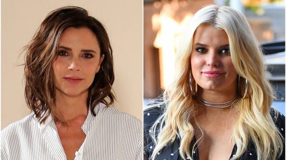 Victoria Beckham and Jessica Simpson are getting ready
