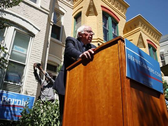 Bernie Sanders says Democrats' top task is defeating Donald Trump