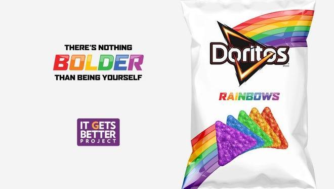 "Doritos to introduce ""Doritos Rainbows"" to supporting the LGBT Community"