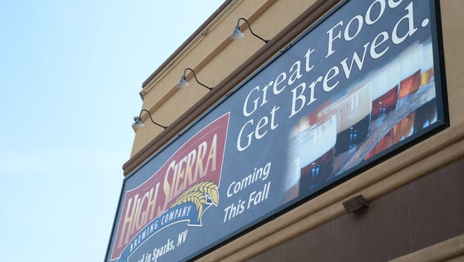 Baldini's Casino will hold a ribbon-cutting ceremony Friday for High Sierra Brewery.