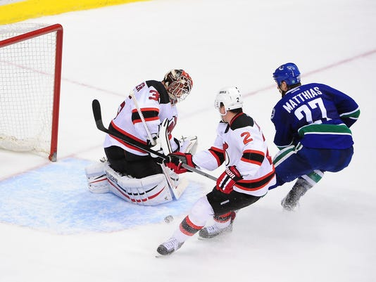 NHL: New Jersey Devils at Vancouver Canucks